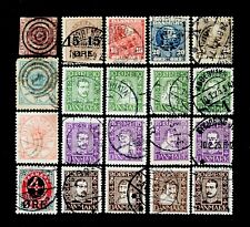 Denmark, small old collection,4 rbs, 2 & 4 sk, Afa 11, 13, 40, 41, 49, 132-143