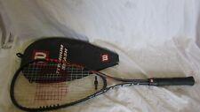 Wilson Titanium Smash Squash Racket and Cover