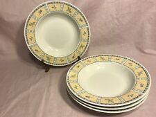 Set of 4 Sango Papillon Soup Bowls