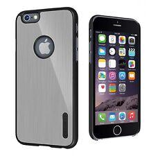 Original Cygnett Urbanshield Caja de Aluminio Plata para Iphone 6S Plus & 6 Plus