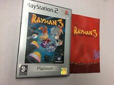 RAYMAN 3 HOODLUM HAVOC  PS2 PLAYSTATION 2 PAL USATO
