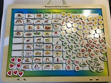 Melissa & Doug Magnetic Responsibility Chart Chore Fun for Kids Training