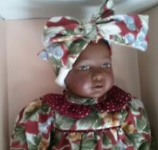 "Vintage Heidi Ott Little Ones Baby Doll 1990's NRFB 8 1/2"" Baby Laura"
