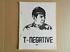 (Star Trek) T-Negative Fanzine #21 (1973) [Ruth Berman]