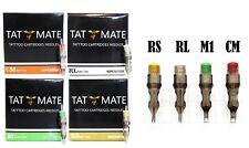 20PCS Tatmate Tattoo Disposable Cartridge Needles Round Liner Shader RL,RS,RM,M1