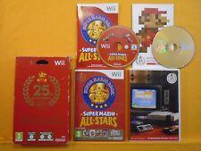 wii SUPER MARIO ALL STARS 25TH Anniversary Edition *x Soundtrack Nintendo PAL UK