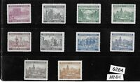 #6284   MNH Stamp set / Architecture /  B a M / Third Reich Germany Protectorate