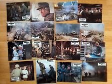 Sam Peckinpah CROSS OF IRON - set of 16 German lobby cards - James Coburn WWII