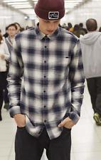 Camisa/Shirt - RUSTY - Talla/Size M - SHADOWED LONG SLEEVE SHIRT - NAVY BLUE