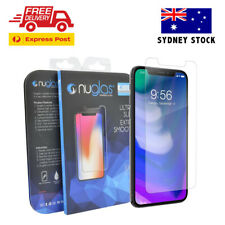 **AU STOCK** NUGLAS Premium Tempered Glass Screen Protector For Apple iPhone X