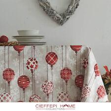 LUCERNA Tovaglia Natale Natalizia - varie misure - Cieffepi Home Collections