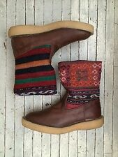 Kapital Popeye Boots Antique Kilm Size 4 Made in Japan