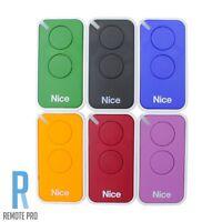 Nice Era-Inti INTI2 Genuine/Original Garage/Gate Door Remote 2 Button