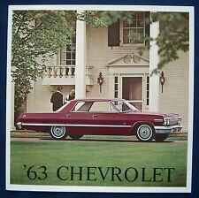 Prospekt brochure 1963 Chevrolet (USA)