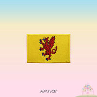 SOMERSET UK County Flag Embroidered Iron On Patch Sew On Badge