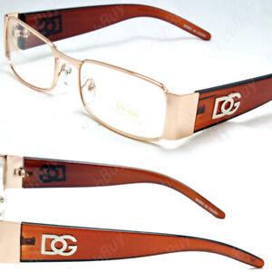 Full Rim Rectangular Fashion Clear Lens Frame Eye Glasses Men Women Designer RX