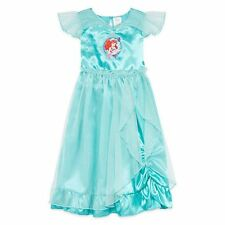 Ariel Short-Sleeve Little Mermaid Gown Disney Collection Size 4