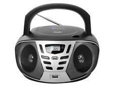 Trevi Portable stéréo Bluetooth Boombox CD FM MP3 USB AUX noir livraison gratuite