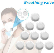 Replaceable Face Mask Cover Breathing Valve Fliters for DIY Outdoor Sports Mask