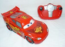 THINKWAY TOYS  COLLECTIBLE LIGHTNING MCQUEEN REMOTE CONTROL VEHICLE RC CARS TOY