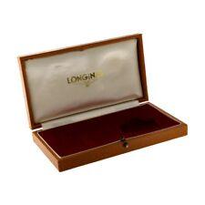 Longines Leather Watch Case Circa 1950's Vintage
