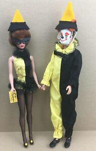 Vintage 1963-64 Mattel Ken & Barbie MASQUERADE ENSEMBLES  #794 & #944
