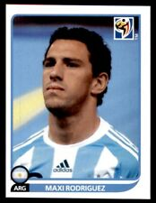 Panini World Cup 2010 (Blue Back Made in Brazil) Maxi Rodriguez (Argentina) #117