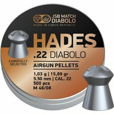 JSB Hades .22 Air Rifle / Airgun  Pellets (5.5mm)