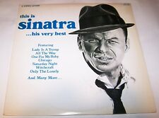 Frank Sinatra This Is-Very Best Canada 2 Lp 1969 Male Vocal Pop Rat Pack