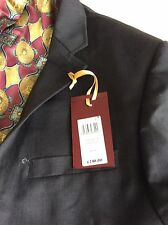Ted Baker London Sovereign Wool Suit Jacket Charcoal Grey Size 44l