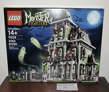 "NEW SEALED LEGO 10228 MONSTER FIGHTERS HAUNTED HOUSE SCARY VAMPIRES 16"" TALL"