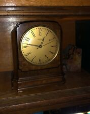 Vintage 1930's Hammond Spin to Start Electric Clock, Wood Case, Working