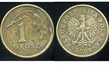 POLOGNE  1 grosz   2004  ( bis )