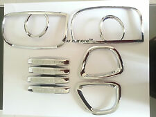 Renault Duster IMPORTED Chrome Products Combo Kit Handle, Tail Light & Fog Light