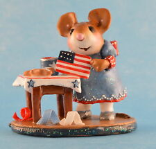 DROP IN FOR THE FOURTH by Wee Forest Folk, WFF# M-341b, LTD 2011