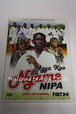 Agaya Koo Nyame Nipa Part 3 & 4 DVD (LN)
