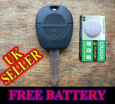 Nissan Micra Terrano Serena Vanette Remote Alarm Key Fob Case with Blade