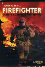 I Want to Be a Firefighter  DVD BRAND  Fireman   New