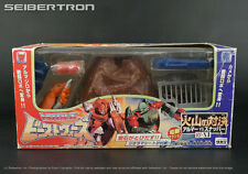 VS-X1 Volcano Showdown Set SNAPPER + ARMORDILLO Transformers Beast Wars Takara