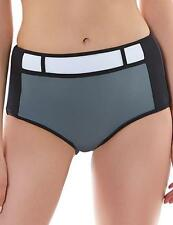 Freya Bondi High Waisted Bikini Brief Pant Black 3967 New VARIOUS SWIMWEAR SIZES