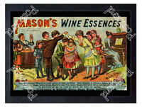 Historic Mason's Extract of Herbs 1890s Advertising Postcard 1