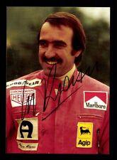 Clay Regazzoni Autogrammkarte Formel 1 Vize Weltmeister