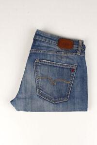 33754 Replay Ioko Bleu Hommes Short Taille 27/34