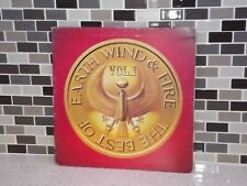 The Best Of Earth / Wind & Fire Vol 1 Album LP Vinyl Turntable Record FC 35647