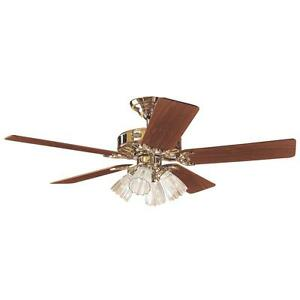 "Hunter 52"" Bb Ceiling Fan W/Lt"