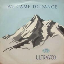 "Ultravox(7"" Vinyl)We Came To Dance-Chrysalis-VOX 1-UK-VG+/Ex"