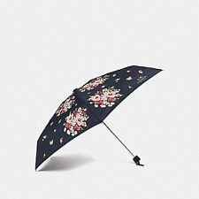 New COACH Compact Folding Umbrella