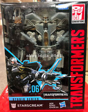 Transformers Starscream Hasbro Studio Series 06 Voyager Class Action Figure Toys