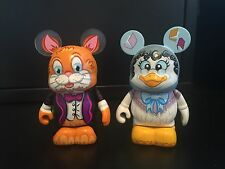 """Disney Vinylmation 3"""" Nursery Rhymes Series Mother Goose and Hey Diddle Diddle"""
