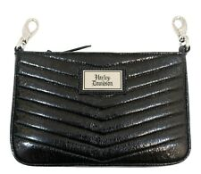 Harley Davidson Women's Quilted Chevron Hip/Cross Body Bag, Black, CQ5547S-BLACK